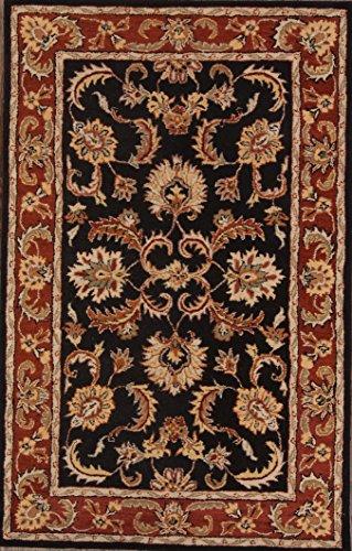 9x12 Tabriz Agra Oriental Genuine Wool Area Rug Floral (9' 0'' x 12' 0'') - Agra Wool Area Rug