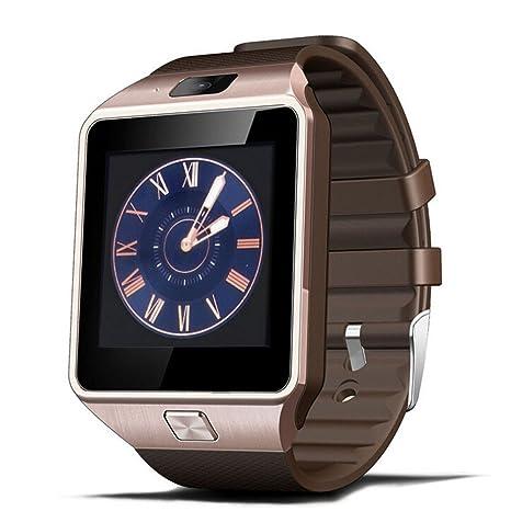 Reloj Inteligente, Jukkarri Reloj Deportivo de Actividad, Reloj con Bluetooth y Ranura para Tarjeta