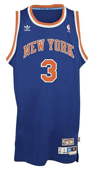 new arrival 50d73 8c0da adidas York Knicks #3 John Starks NBA Soul Swingman Jersey, Blue