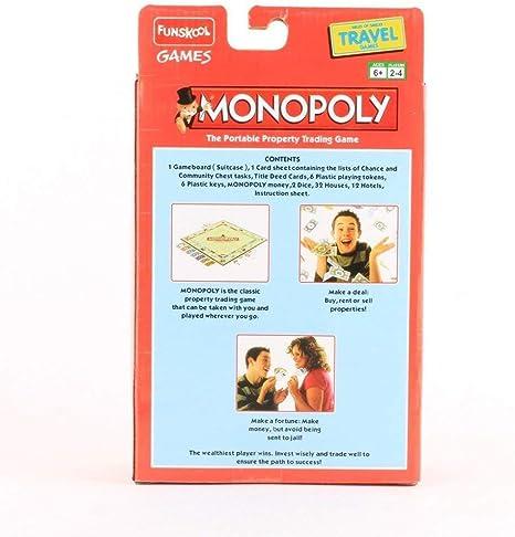 Funskool Travel Monopoly Travel Game - Juego de Mesa para niños: Amazon.es: Juguetes y juegos