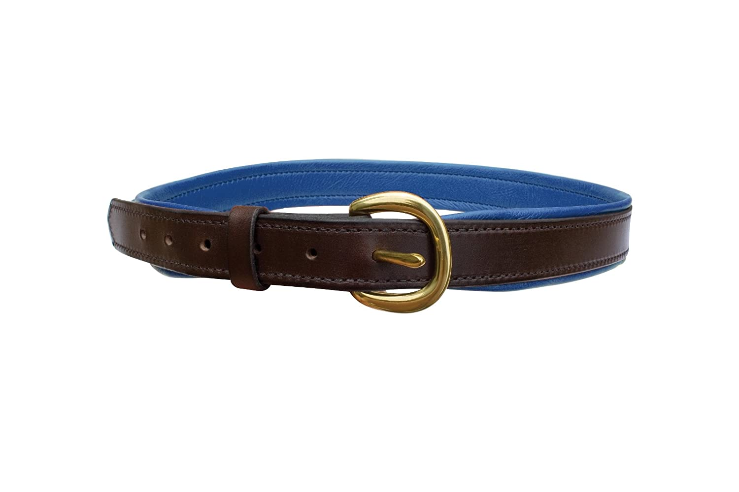 Perris Leather Havana with Brown Wide Padded Leather Belt