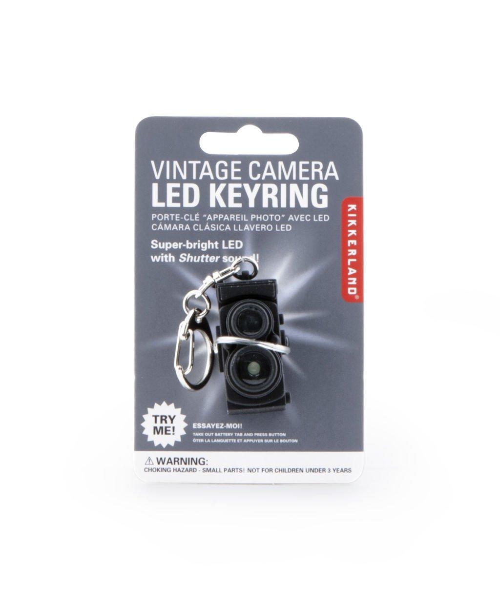 Kikkerland KRL24-CDU Vintage Camera LED Keychain - - Amazon.com