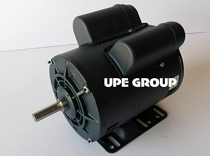 5HP SPL LEESON 56 Frame ELECTRIC MOTOR Replaces Air Compressor Motor - Century Motor # B385 - - Amazon.com