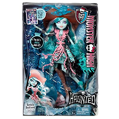 Monster High Haunted Student Spirits Vandala Doubloons Doll: Toys & Games