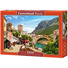 "Castorland ""The Old Town of Mostar"" Puzzle (1500 Piece)"