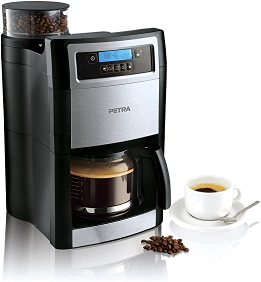 Petra Electric KM 90.07 - Coffee maker grind y brew display lcd, 1 ...