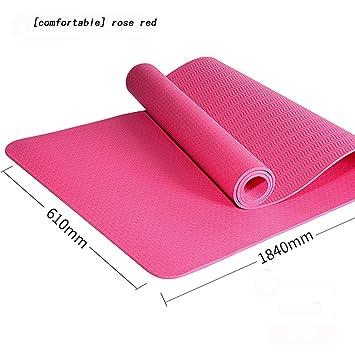 Amazon.com: yjll Yoga Mat - Eco Friendly Non-Slip Exercise ...