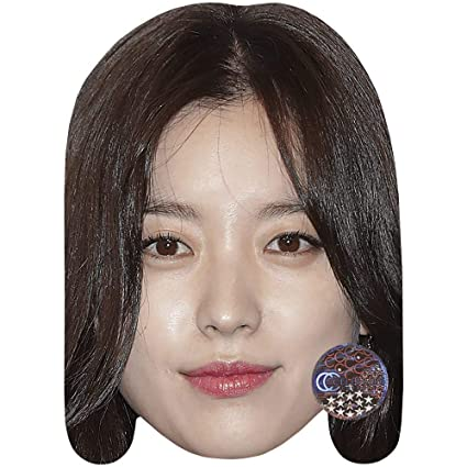Amazon com: Han Hyo-Joo (Brown Hair) Celebrity Mask, Card