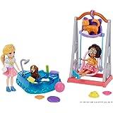 Hora de Brincar 2 Amigas, Polly Pocket, Mattel