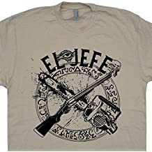 EL Jefe T Shirt Evil Army Book Of The Dead Shirts HP Lovecraft This Is My Boomstick Chainsaw Darkness Cult Horror Movie Tee Necromancer Shirtmandude