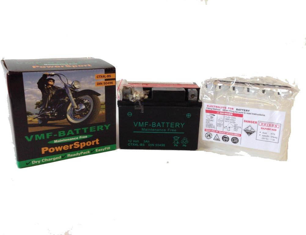 Batería de moto YT4L-BS   AGM Hermética YT4L-4