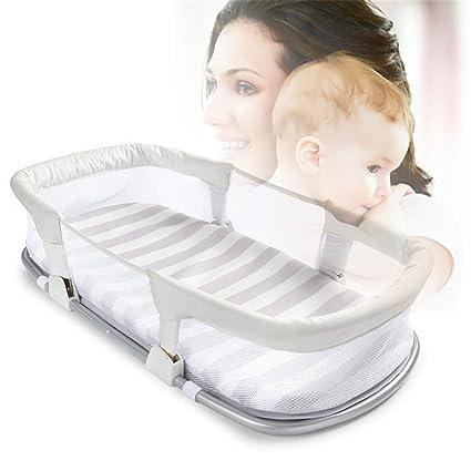 Cama plegable portátil plegable para bebé, seguro y cómodo ...