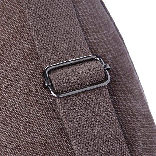 Carrot King Canvas Sling Bag Sport Outdoor Bike Chest Shoulder Pack Unbalance Crossbody Bag Travel Daypack For Adult