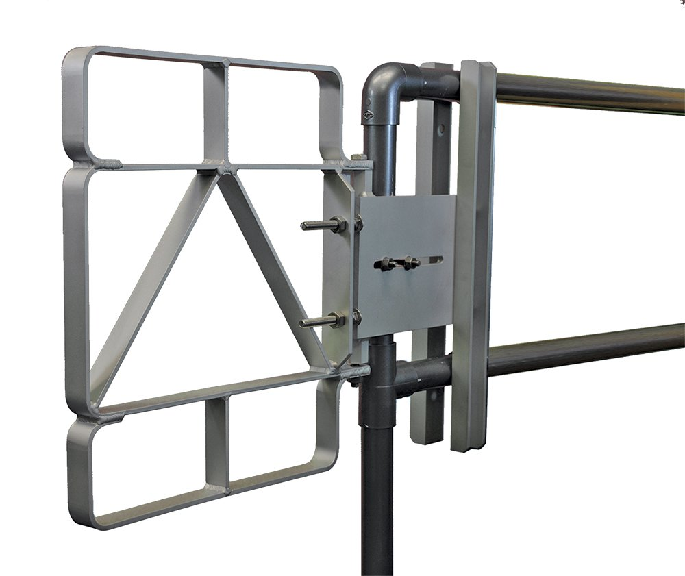 Fabenco XL82-16 17-18.5'' x 22'' 6061 Aluminum Safety Gate by Fabenco