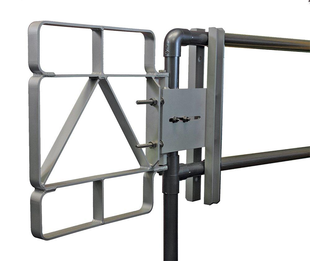 Fabenco XL82-16 17-18.5'' x 22'' 6061 Aluminum Safety Gate
