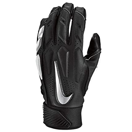 reputable site 385ad 2249e Nike Mens D-Tack 6 Lineman Gloves (2X-Large, Black White