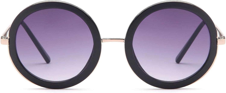 UV400 Purple Kids Classic Vintage Style 80/'s Retro Black Lens Sunglasses!