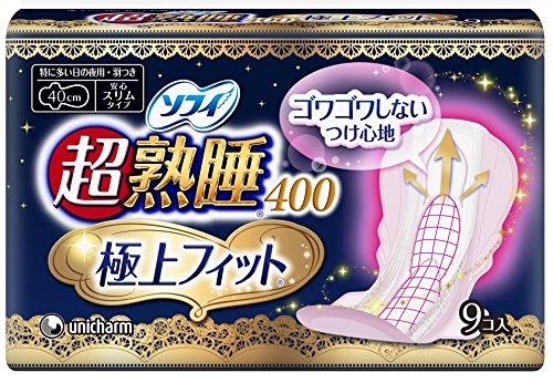 sofy-sanitary-napkin-ultra-deep-sleep-400-super-fit-slim-9p