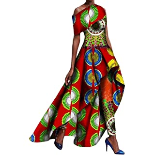 8ba6be45feb Amazon.com  Winwinus Women s Fashion Batik Mermaid Africa Dashiki ...