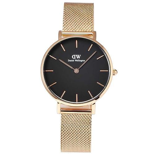 Daniel Wellington - Reloj de mujer de malla metálica de 32 mmArtículo: DW00100161: Amazon.es: Joyería