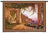 Fine Art Tapestries ''Amalfi Di Cappuccini'' Wall Tapestry, Large
