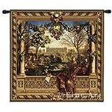 Fine Art Tapestries ''Le Chateau De Monceau'' Wall Tapestry