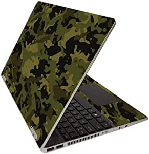 "MightySkins Skin for HP Pavilion x360 15"" (2020) - Green Camouflage 