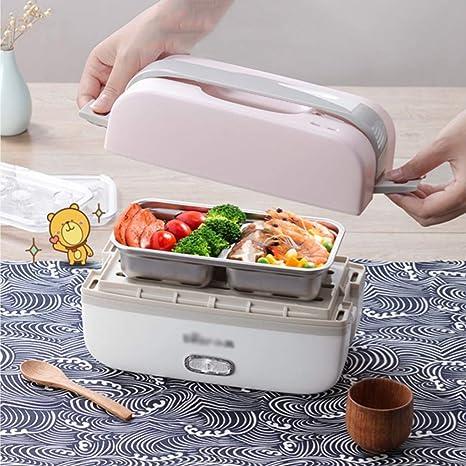 Amazon.com: LU- Fiambrera eléctrica portátil cuadrada ...