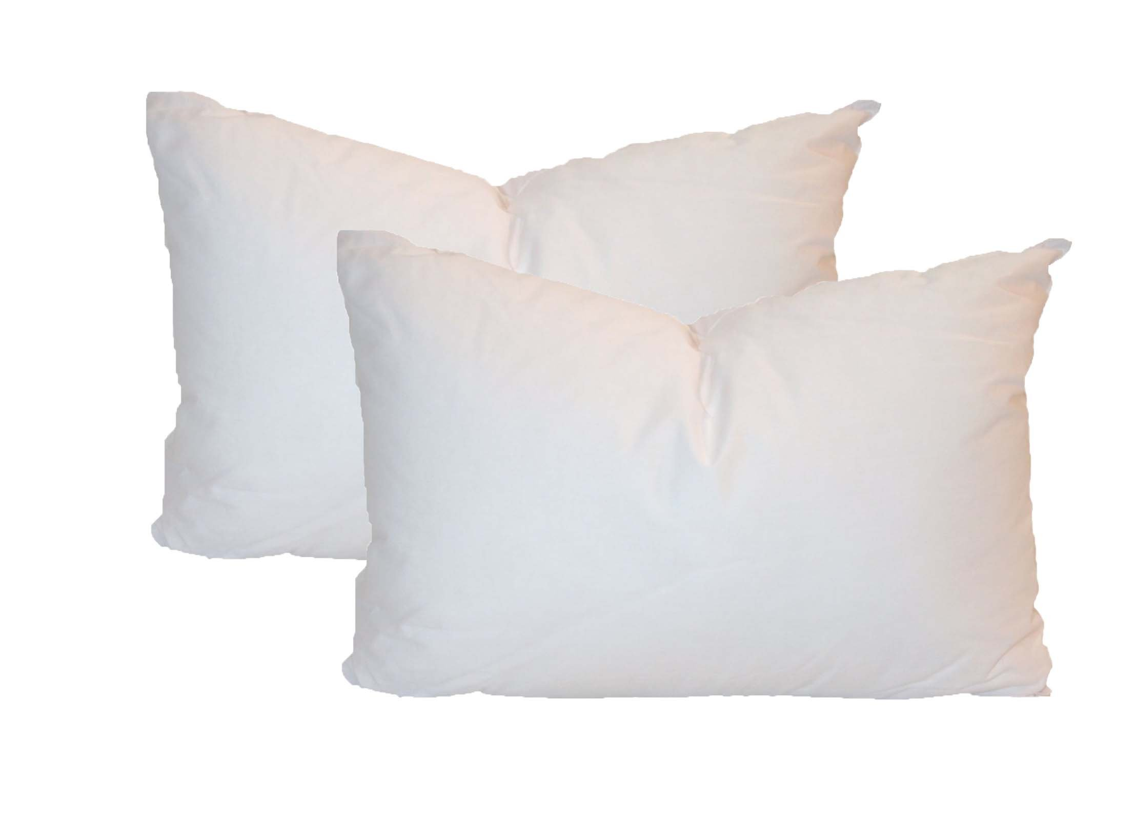 Pillowflex Set of 2 Synthetic Down Alternative Pillow Inserts for Shams (12 Inch by 24 Inch) by Pillowflex