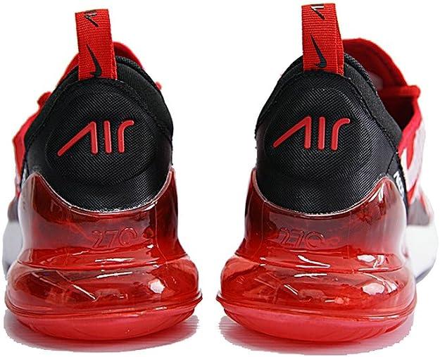 grano Puñalada dinero  Supreme x Air MAX 270 Sup Red White Black Zapatillas de Running para Hombre  Mujer: Amazon.es: Zapatos y complementos