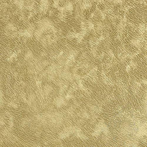 76 sq.ft roll made in Italy Portofino textured wallcoverings modern abstract Kashmir embossed Vinyl Wallpaper gold metallic faux wool fabric design plain strippable covering washable wall coverings 3D