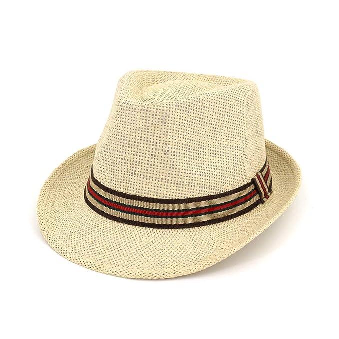 Gorros Sombrero De Panamá Banda Moda Damas con Playa Modernas Casual Jazz Cap Verano Ocio Protector