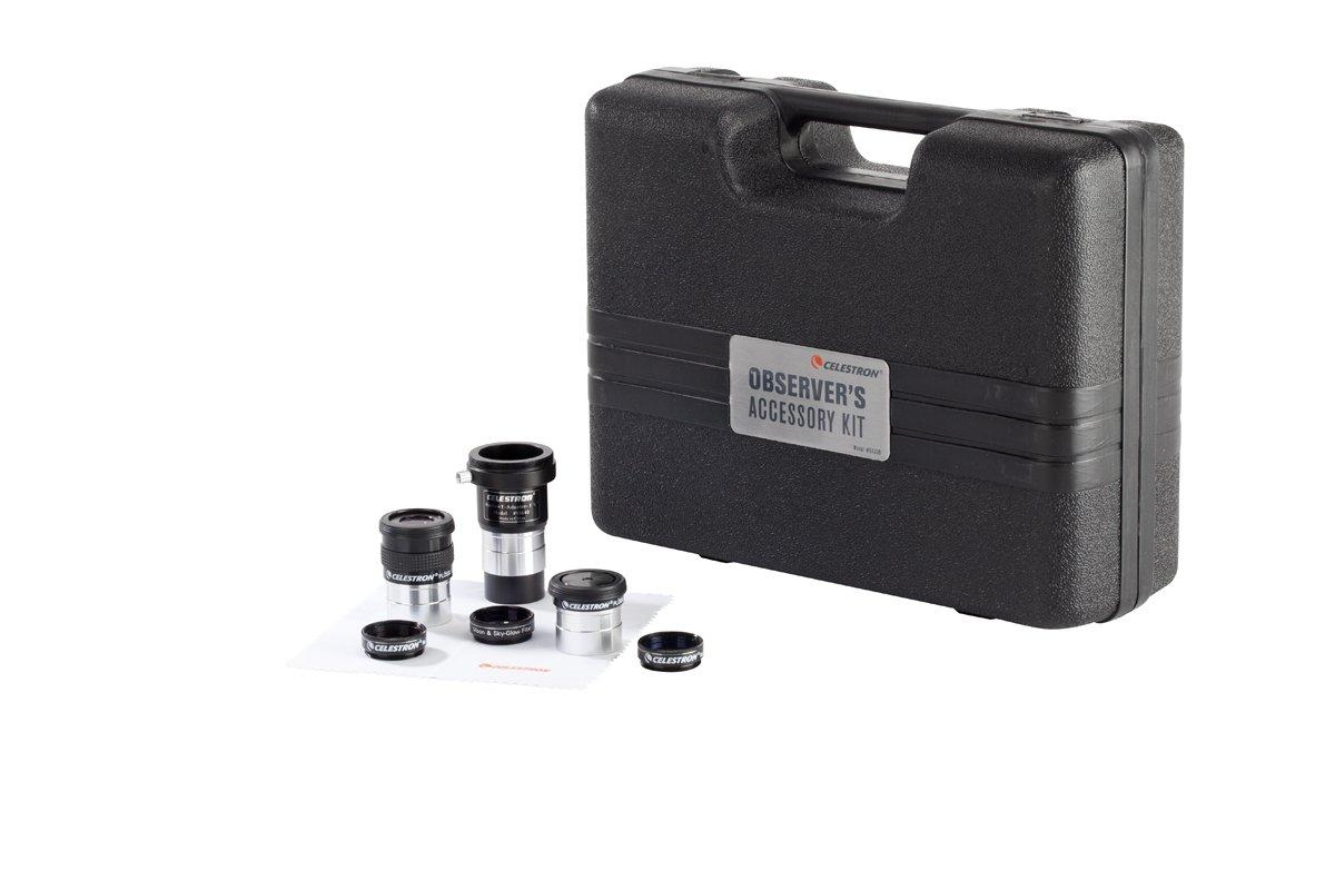 Celestron 94308 Observers Accessory Kit (Black) by Celestron