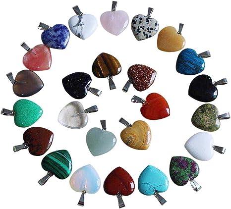 5pcs Natural Gemstone Irregular Shape Pendant Beads For Necklace Earring DIY