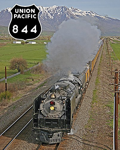 Union Pacific 844 at Morgan Valley 8