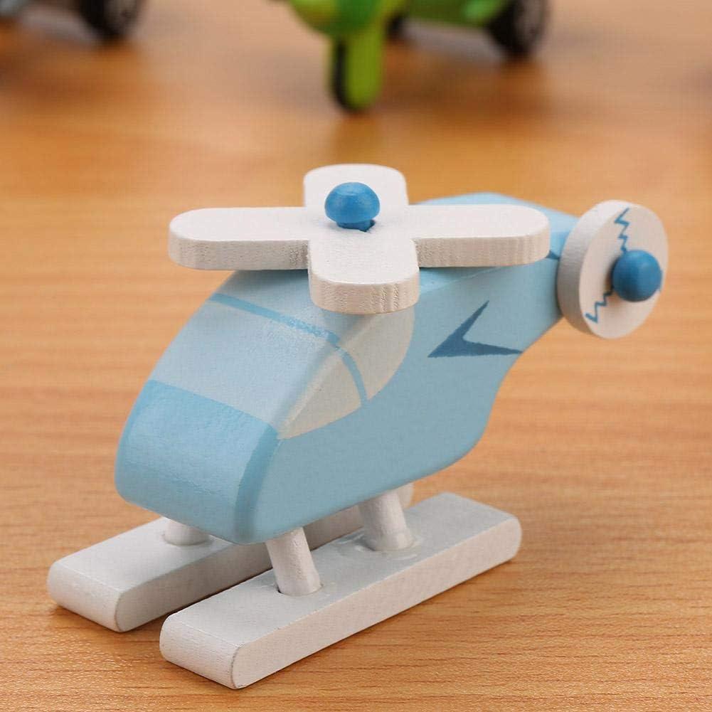 12Pcs / Set Set de voitures en bois, Baby Kid Cartoon Toy Vehicle Set Early Traffic Éducatifs Jouets Set pour Garçons Filles(#1) #2