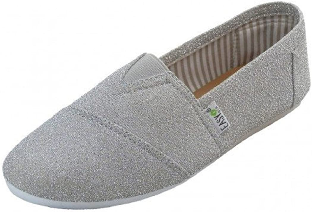 Canvas Slip-On Shoes with Padded Insole
