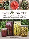 img - for Can It & Ferment It: 75 Satisfying Small-Batch Canning and Fermentation Recipes for the Whole Year book / textbook / text book