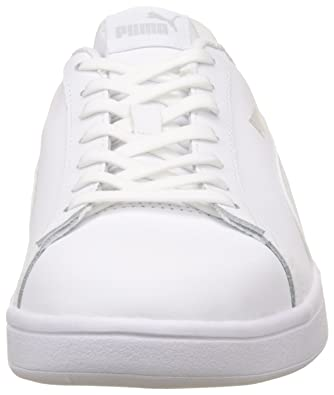 1a8892a422 Puma Men s Smash V2 L White Leather Sneakers-9.5 UK India (44 EU)  (36521507)  Buy Online at Low Prices in India - Amazon.in