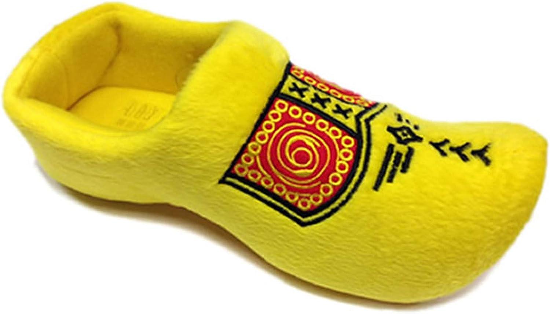 World Of Clogs Holand/és Zuecos Zapatillas en Amarillo