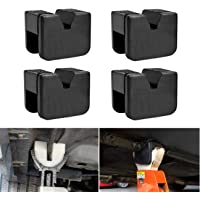 DUTISON Jack Pad Adapter for Jack Stand Universal Rubber Slotted Frame Rail Pinch welds Protector-4 Pack