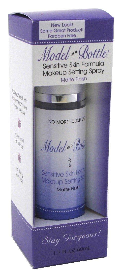 Model In A Bottle 1.76 Ounce Makeup Setting Spray Sensitive (50ml) (2 Pack)