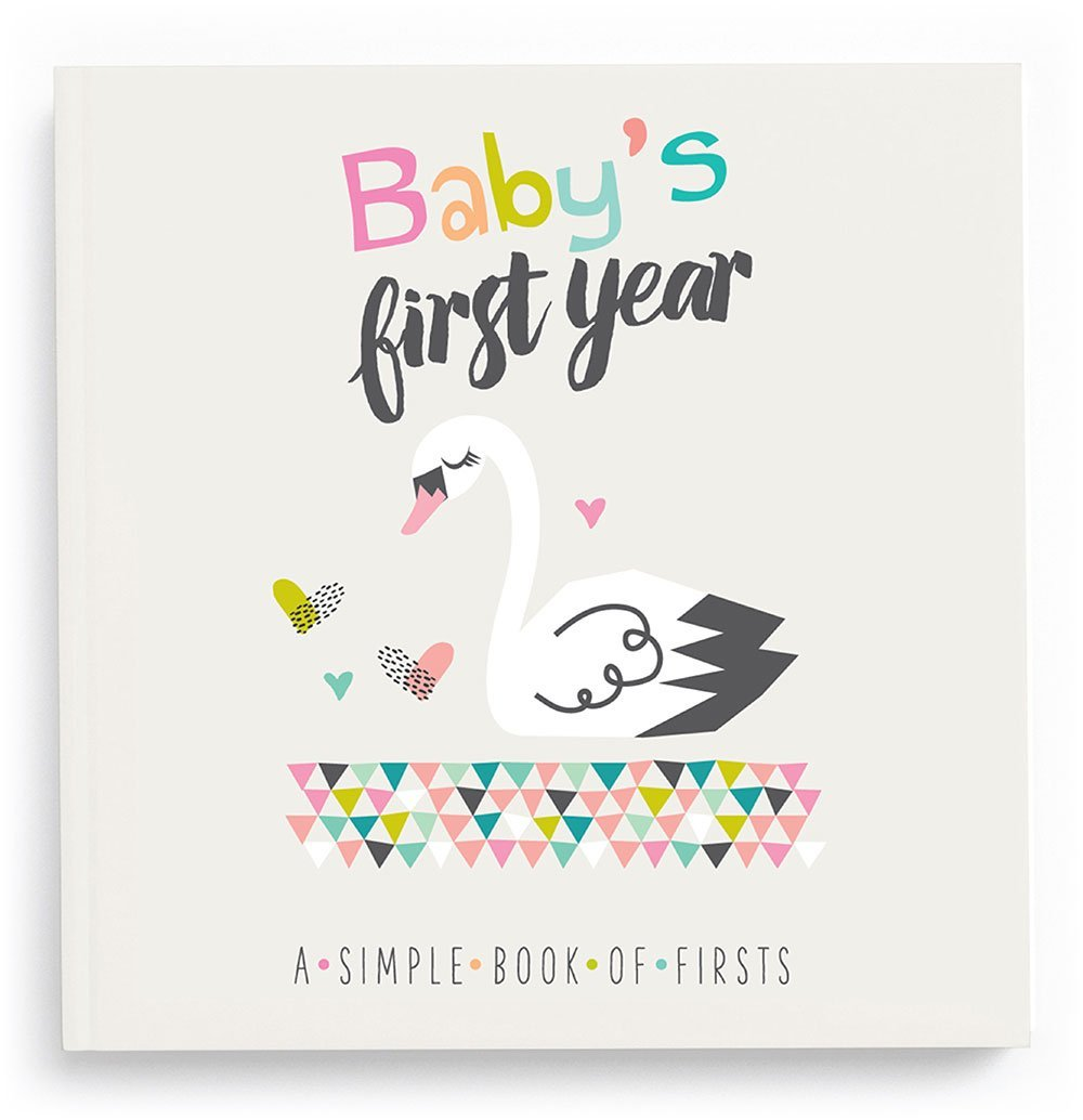 Lucy Darling Baby's First Year Memory Book: A Simple Book of Firsts - Little Love