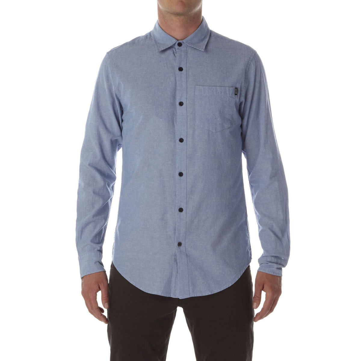 CCS Switch Long Sleeve Woven Shirt Chambray