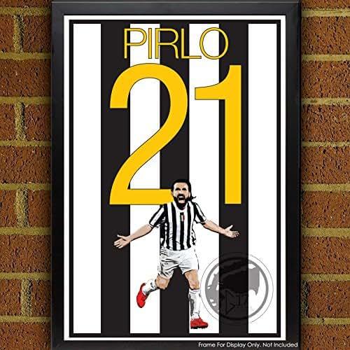 Amazon.com: Andrea Pirlo Poster - Juventus Art: Handmade