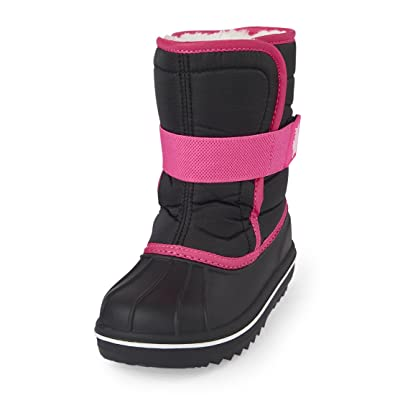 5aa97f428125 The Children s Place Girls Snow Boot Black 4