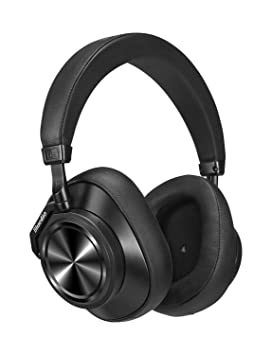 e838aab8231 Bluedio T6S Bluetooth Headphones Over Ear with Mic, Active Noise Canceling  Headset Voice Control Support