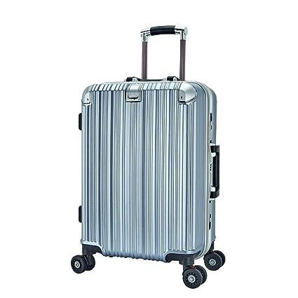 20/% M/ás Livianas Azul Luggo 8 Ruedas Giratorias Cerradura TSA Maleta de Cabina Capullo