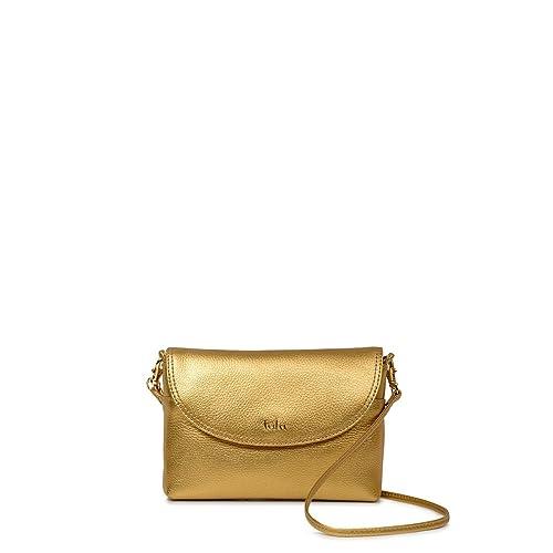2d54b62343a Tula - Bolso bandolera de Piel Mujer M  Amazon.es  Zapatos y complementos