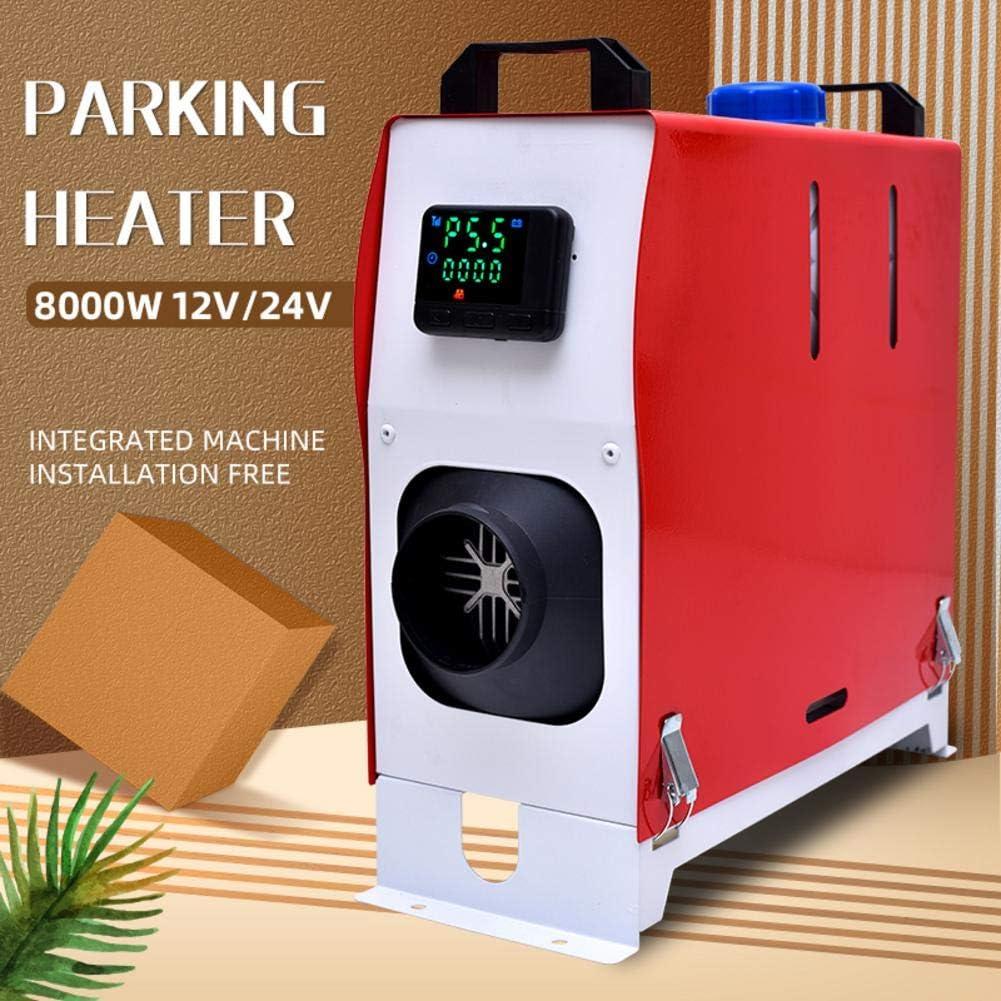 Runningfish 12 V 8 KW Diesel-Lufterhitzer Auto Standheizung Klimaanlage Maschine Fernbedienung LCD-Display F/ür LKW-Boot 15,3 /× 39 /× 41,5 cm